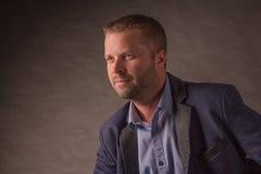 WD_studio_madmen_5. Model in studio shoot, Mad Men style Royalty Free Stock Photography
