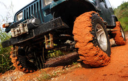 4wd tyre Stock Photos