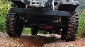 4wd tyre Stock Photo