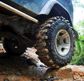 4wd tyre Royalty Free Stock Photo