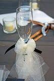 Wdding Champagne Flute Fotografie Stock Libere da Diritti