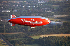 WDL Airship. RUHR DISTRICT / GERMANY LATE 1990s Stock Photo