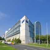 WDR building in dusseldorf Stock Photo
