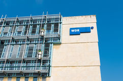 WDR building in dusseldorf Royalty Free Stock Photos