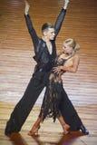 WDSF International style of Ballroomdancing Stock Photo