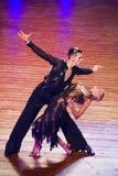 WDSF International style of Ballroomdancing Stock Images