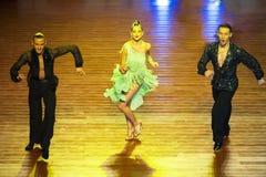 WDSF International style of Ballroomdancing Royalty Free Stock Photography