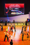 WDSF International style of Ballroomdancing Royalty Free Stock Photo