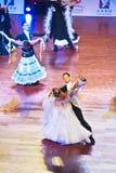 WDSF International style of Ballroomdancing Stock Photos