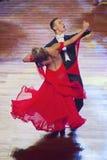 WDSF International style of Ballroomdancing Stock Image