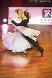 WDSF International style of Ballroomdancing Stock Photography