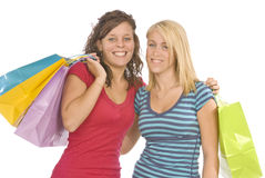 We've Been Shopping Revised Royalty Free Stock Image