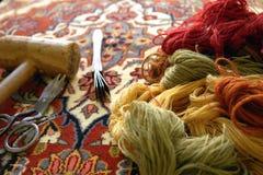 Wełna dywany zdjęcia royalty free