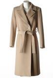 wełniane płaszcz Fotografia Royalty Free