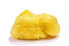 wełny kolor żółty Zdjęcia Royalty Free