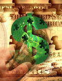 weź pieniądze firmy ilustracja wektor