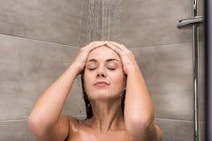 weź prysznic kobiety obrazy stock
