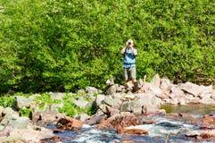 weź zdjęcie turysty Fotografia Royalty Free