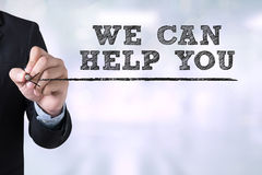 Free WE CAN HELP YOU Stock Photos - 70438693