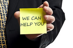 Free We Can Help You Notice Stock Images - 22545374