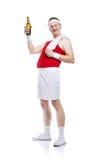 Weak body builder Stock Images