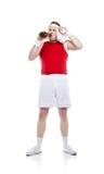 Weak body builder Stock Image