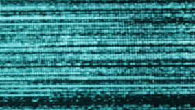 Weak classic tv bad signal, blinking background noise. Blinking tv noise motion texture, real classic television set stock video