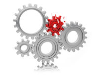 Free Weak Link In The Teamwork Concept Royalty Free Stock Image - 57810216