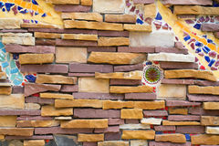 Weall da rocha Imagem de Stock