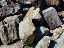 Weall de la roca Imagen de archivo libre de regalías
