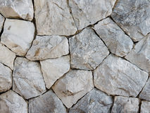 Weall de roche Images libres de droits