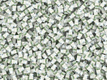 Wealth. Background from packs of euro Stock Image