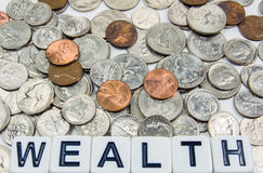 Wealth – Business Concept Stock Photography