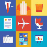 Wealth and business illustration Royalty Free Stock Photos