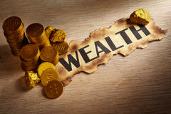 Wealth concept Stock Images