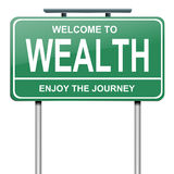 Wealth concept. Stock Photography