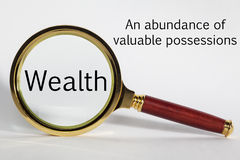 Wealth Concept Royalty Free Stock Photo