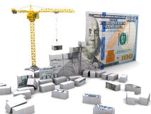 Wealth construction Stock Photo
