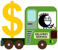 Wealth delivery Stock Photography