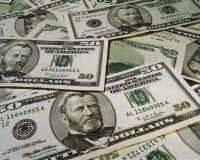 Wealth of dollars Stock Image