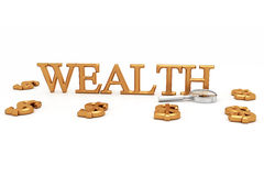 Wealth And Dollars Stock Image
