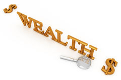 Wealth And Dollars Stock Photography