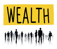 Wealth Financial Growth Income Economy Concept Stock Photo