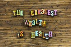 Wealth health healthcare healthy security