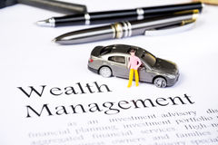Wealth management business concept Stock Photo