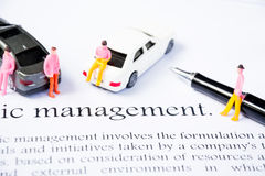Wealth management business concept Stock Image