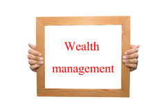 Wealth management Royalty Free Stock Images