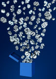 Wealth and money concept Royalty Free Stock Image
