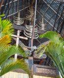 Wealth symbol in Tana Toraja Stock Photos