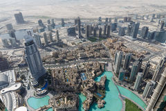 Wealthy Buildings From Above with Wealthy Buildings From Above that near The Burj Khalifa, DubaiThe Burj Khalifa Shadow, Dubai Royalty Free Stock Image